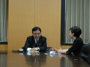 3遠藤大臣訪問