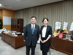 4遠藤大臣訪問